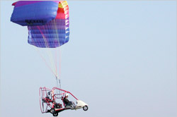 Powered Parachute (PPC) in flight