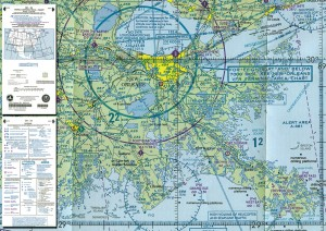 World aeronautical chart.