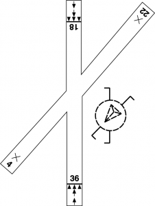 Figure 4. Pattern markings.