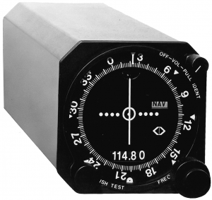 Figure 2. A VOR receiver. (Courtesy of Narco Avionics)