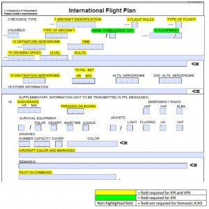 ICAO Form